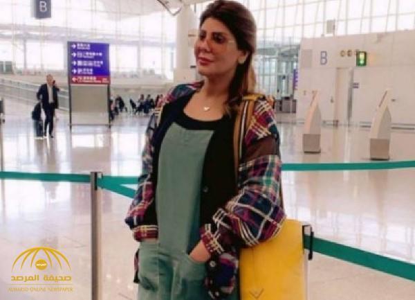 """""""أنا أنزفيت"""".. شاهد: خلاف بين الفنانة الكويتية """"إلهام الفضالة"""" وزوجها في مطعم"""