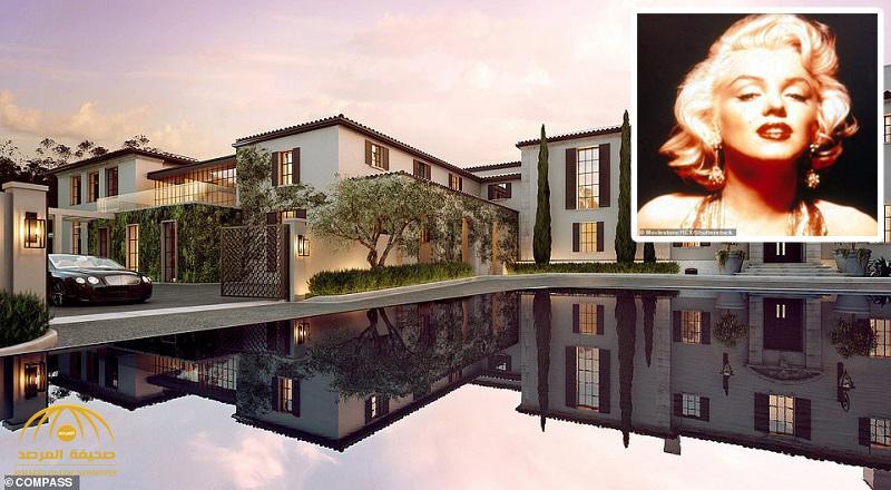 """شاهد : عرض قصر """"مارلين مونرو"""" في لوس أنجلوس للبيع -صور"""