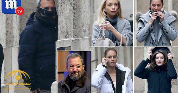 """شاهد .. فضيحة رئيس وزراء إسرائيل الأسبق """"إيهود باراك"""" وهو يتسلل لمنزل تاجر جنس أمريكي"""