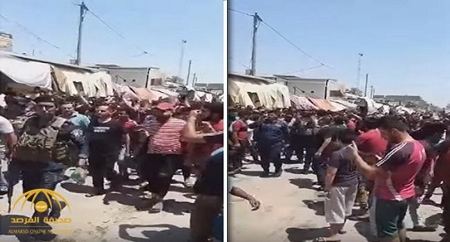 """شاهد: عراقيون شيعة يهتفون: """"بالروح بالدم نفديك يا صدام """" خلال مظاهرة في بغداد"""