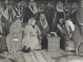 شاهد.. صورة نادرة تجمع 4 ملوك سعوديين في إحدى المناسبات بالزلفي قبل 39 عاما!