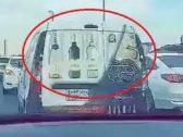 حقيقة رصد سيارة نقل مشروبات روحية في المملكة