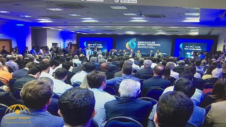 شاهد .. لحظة انتحار رجل أعمال برازيلي أثناء مؤتمر صحفي على الهواء مباشرة
