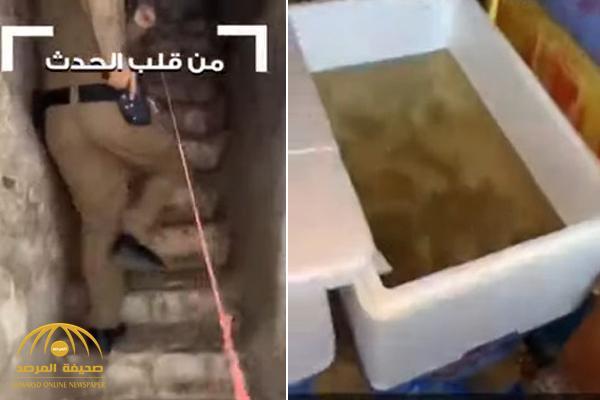 بالفيديو : لحظة مداهمة عمالة مخالفة بسوق البطحاء في الرياض .. وفضح الحيل التي يستخدمونها