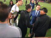 بالفيديو : إبراهيموفيتش يوجه شتائم نابية لمدرب مصري .. والأخير يكشف سبب المشادة