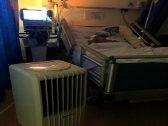 """أول تعليق لـ """"الصحة """" بعد جلب أسرة مريض سرطان """"تكييف"""" لغرفته في مستشفى بجازان بسبب ارتفاع درجة الحرارة!"""