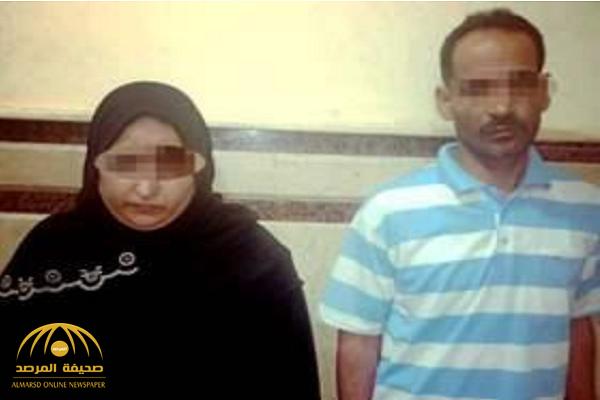 اعترافات مثيرة في التحقيق  … مصرية تكشف تفاصيل مقتل زوجها : عشيقي موته وهو بيصلح الدِش!