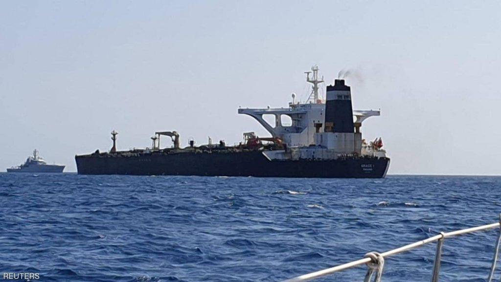 """أول رد """"بريطاني """"على تهديدات """"الحرس الثوري الإيراني"""" بشأن ناقلة النفط المحتجزة في جبل طارق"""