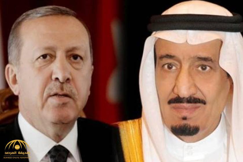 """خادم الحرمين يتلقى اتصالًا هاتفيًا من """"أردوغان"""""""