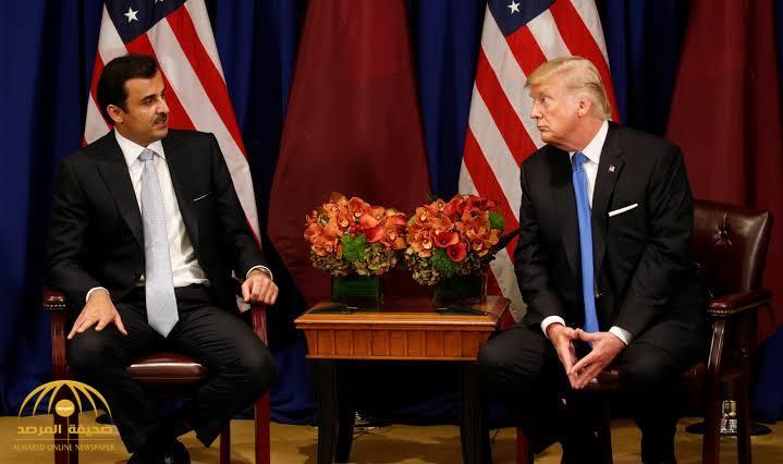 """ترامب لأمير قطر عن توسيع قاعدة """"العديد"""": الحمد لله هذه أغلبها من أموالكم وليس أموالنا!"""