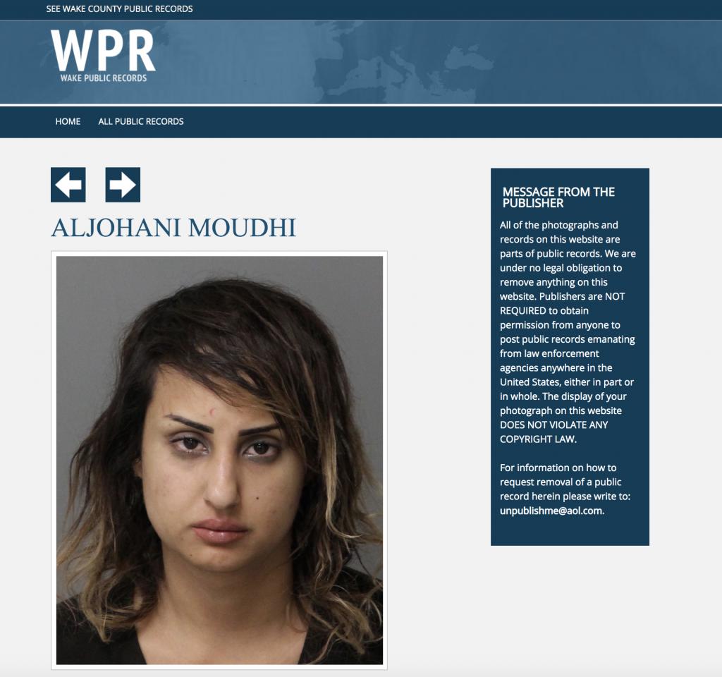 """الحكم على السعودية  """"موضي الجهني"""" الهاربة إلى أمريكا بالسجن 4 سنوات بتهمة التهديد بالقتل – صور"""