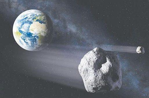 جبل ضخم قادم من الفضاء بسرعة هائلة  يهدد الحياة على الأرض خلال أيام!