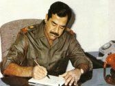 """شاهد: """"رغد صدام حسين"""" تنشر رسالة نصية نادرة بخط يد والدها بشأن وزير إيراني أسر بالحرب"""