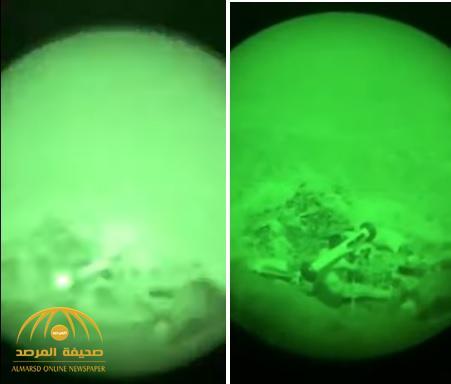 شاهد.. عملية نوعية للمظليين والقوات الخاصة السعودية في معقل عبدالملك الحوثي