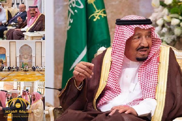 بالصور والفيديو : الملك سلمان يشرف الحفل السنوي لكبار ضيوف الحج