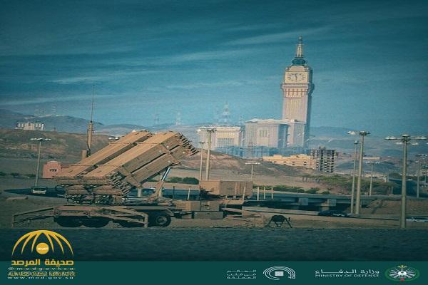 """شاهد .. """"وزارة الدفاع"""" تنشر صور لـ""""مضادات الصواريخ"""" في مكة"""