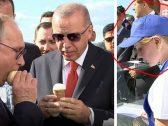 صورة تفضح حقيقة بائعة الأيس كريم لبوتين وأردوغان … ظهرت مع الرئيس الروسي قبل عامين!