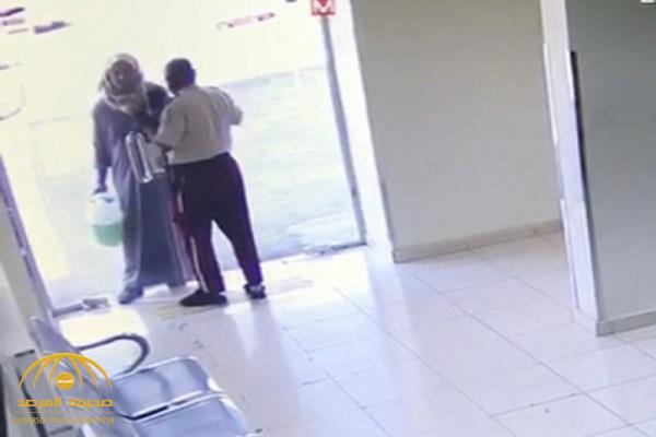 حمل جالون بنزين.. هكذا تعامل حارس أمن مع مواطن حاول إحراق مستشفى في مكة.. ومفاجأة بعد استدراجه!