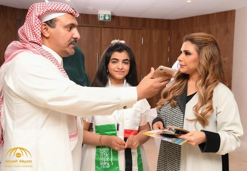 """بالصور : """"المرصد"""" تلتقي بأبرز الإعلاميات في حفل يوم المرأة الإماراتية بفندق ماريوت بحي السفارات بالرياض"""