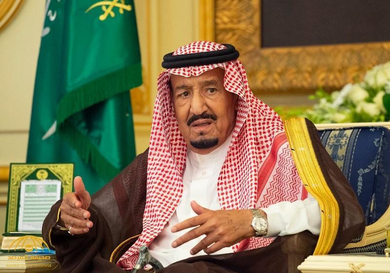 بالصور ..  خادم الحرمين يستقبل أصحاب السمو الأمراء والفضيلة العلماء وجمعاً من المواطنين
