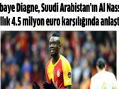 """تفاصيل مفاوضات النصر مع نادي """"غلطة"""" لضم السنغالي """"دياني"""".. والكشف عن قيمة الصفقة!"""