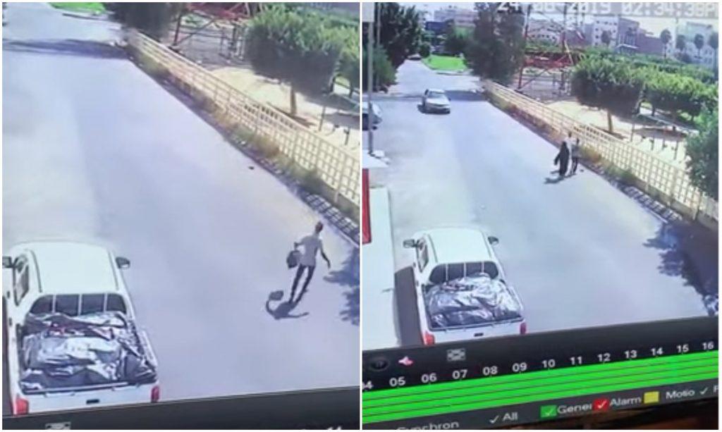 شاهد: لصان يسرقان حقائب من سيارة متوقفة بالطائف.. وصاحب المركبة يكشف للمرصد ملابسات الواقعة!