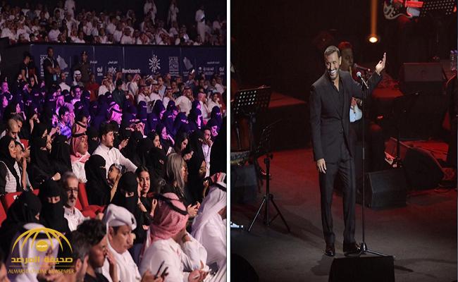 شاهد: كاظم الساهر يحيي حفلا غنائيا في السودة وسط تفاعل سعودي كبير