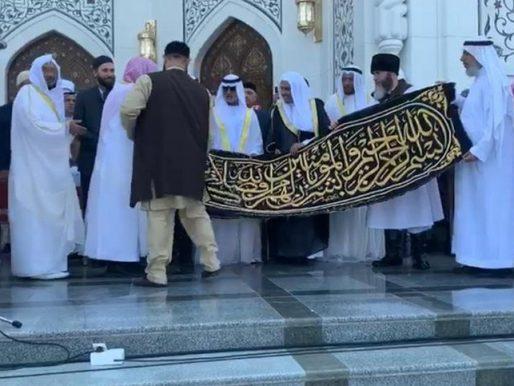 بالفيديو .. شاهد كيف استقبل رئيس الشيشان هدية خادم الحرمين وولي العهد