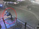بالفيديو .. شاهد لحظة مقتل المهاجم المسلح في أوهايو
