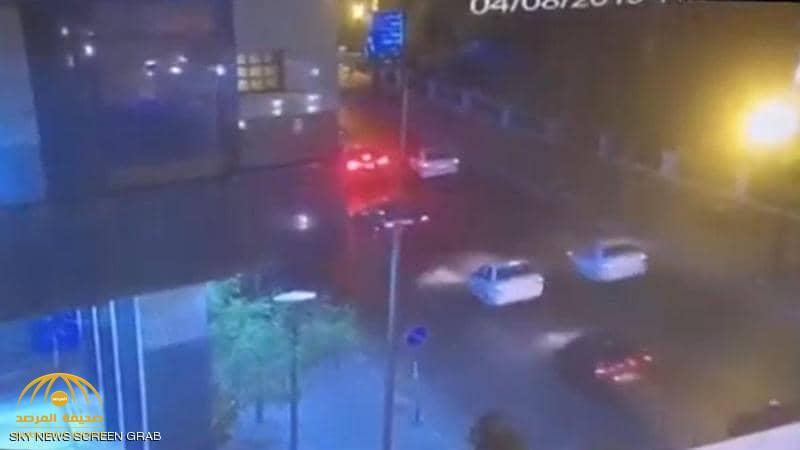 شاهد .. أول فيديو لحظة انفجار السيارة أمام معهد الأورام في مصر