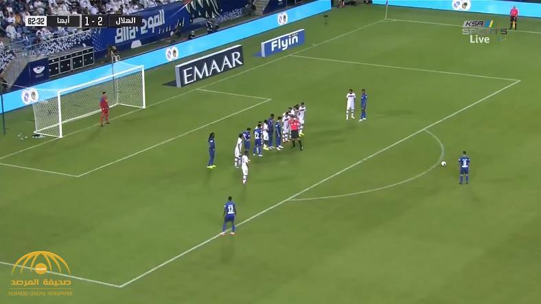 بالفيديو : الهلال يستهل مشواره في الدوري بفوز صعب على أبها