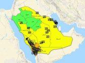أمطار غزيرة وبرد وسيول.. 9 مناطق بالمملكة في مرمى تنبيهات الإنذار المبكر اليوم!