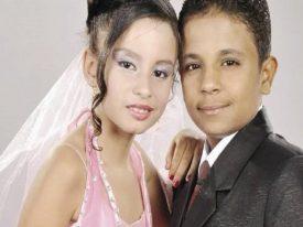 """""""العيال كبرت """"..  إتمام زفاف  أصغر عروسين بعد خطوبتهم أطفالا منذ 6 سنوات …. شاهد كيف تغيرت ملامحهما!"""