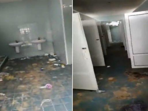 شاهد .. مواطن يوثق فيديو صادم لدورات المياه على الكورنيش بعد انتهاء موسم جدة!