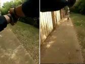 شاهد : فيديو صادم لضابط شرطة أمريكي .. حاول إنقاذ امرأة فقتلها !