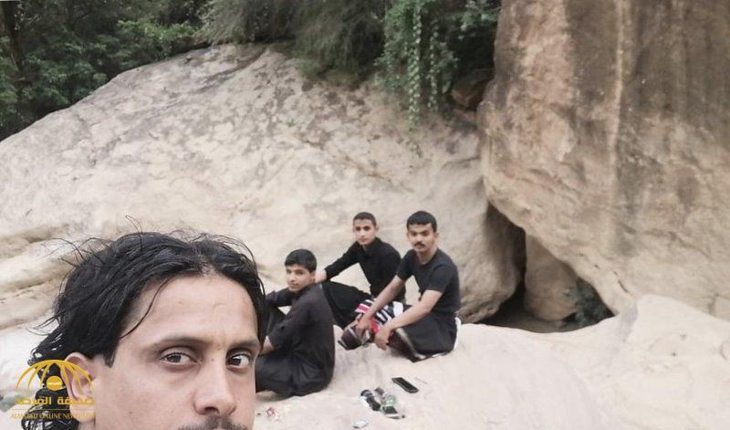 تفاصيل جديدة في اختفاء 6 سعوديين بوادي لجب.. معلومات تروى لأول مرة عن خطة البحث وسط الصخور ووديان الأفاعي !