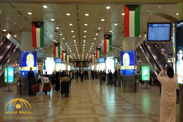 مشاجرة عنيفة وتبادل اللكمات بين ضابطين  في مطار الكويت !