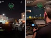 """شاهد: الداخلية تنشر """"فيديو"""" يوثق مباشرة عملية إطلاق نار في الرياض .. وهذا ما حدث لحظة الوصول إلى المكان!"""