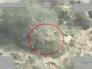 شاهد … قوات التحالف  تنسف عربة و مسلحين  حوثيين مختبئين  أسفل شجرة بصعدة
