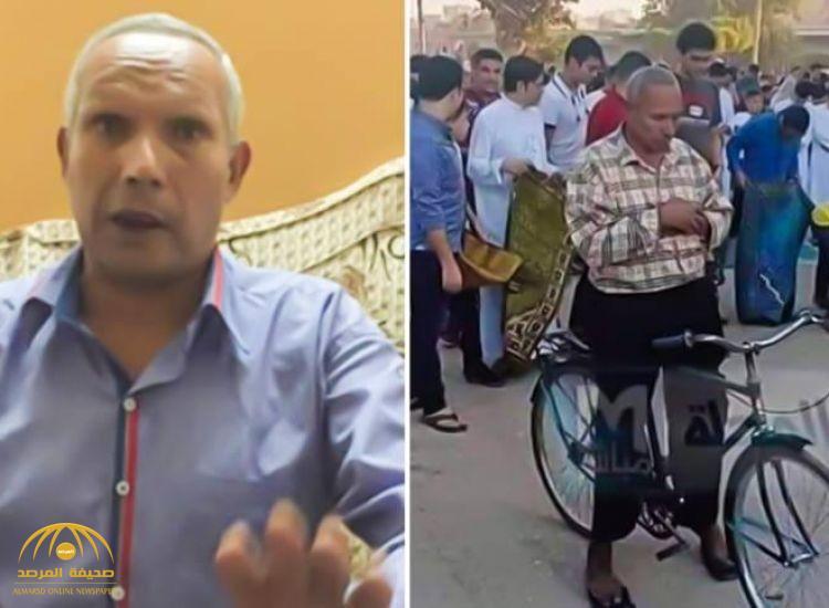 """حقيقة وفاة """"مُصلي الدراجة"""" أول أيام العيد في مصر!"""