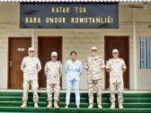 صحافية تركية شهيرة تنشر صورة من داخل القاعدة التركية في قطر وتعلق: أنقرة تبسط سيطرتها!