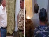 شاهد.. لحظة تسليم رئيس قرغيزستان السابق نفسه إلى قوات الأمن!