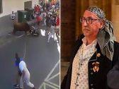 """شاهد بالصور.. ثور هائج يقتل رجلا بطريقة """"مرعبة"""" في إسبانيا !"""