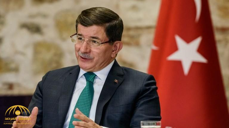 """أول تعليق من """"داود أوغلو"""" بعد فصله من حزب """"العدالة والتنمية"""" التركية!"""