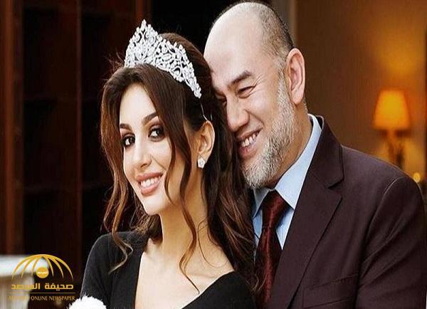 ملكة جمال موسكو تخرج عن صمتها  وتتحدث لأول مرة عن أسباب طلاقها من ملك ماليزيا السابق