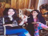 """شاهد.. فيديو لـ""""لجين عمران"""" مع فنانة إماراتية يعرضها للتعليقات الساخرة على حسابها في انستغرام !"""