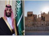 """""""ولي العهد"""" يوجه بترميم قصر الأميرة نورة بنت عبدالرحمن على نفقته الخاصة-صور"""