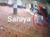 """شاهد: كاميرات مراقبة بـ""""الأردن"""" تكشف عن حادث مفجع وقع لمؤذن مسجد قبل رفعه الآذان!"""