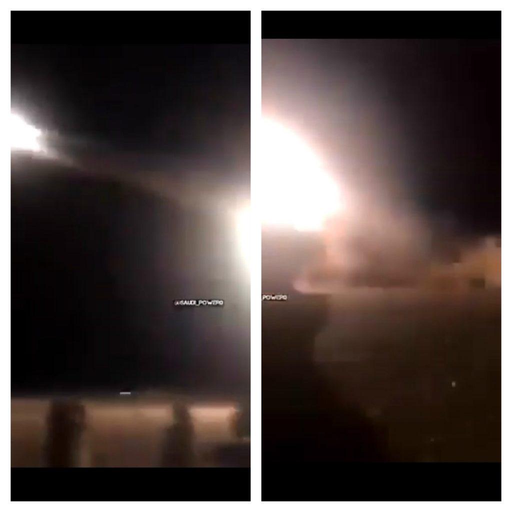 شاهد : لحظة استهداف أوكار الحوثيين في صعدة براجمات الصواريخ
