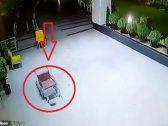 """شاهد : كرسي يتحرك  دون وجود شخص يدفعه داخل مستشفى بـ""""الهند"""""""